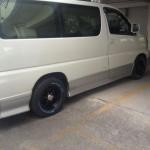 エルグランド:タイヤ交換&ホイールカスタム「215/65R15」
