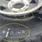 ジムニー:タイヤ・エアバルブ交換