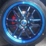 CR-Z 17インチアルミホイール:タイヤサイズ215/45R17